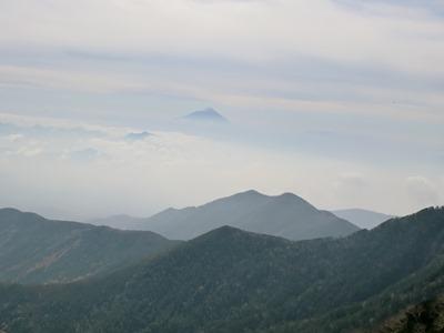 横岳からの富士山